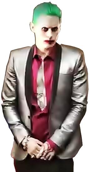 (Tamaño XL) Disfraz completo - Joker - Chaqueta - Camisa - Pantalones - Tie