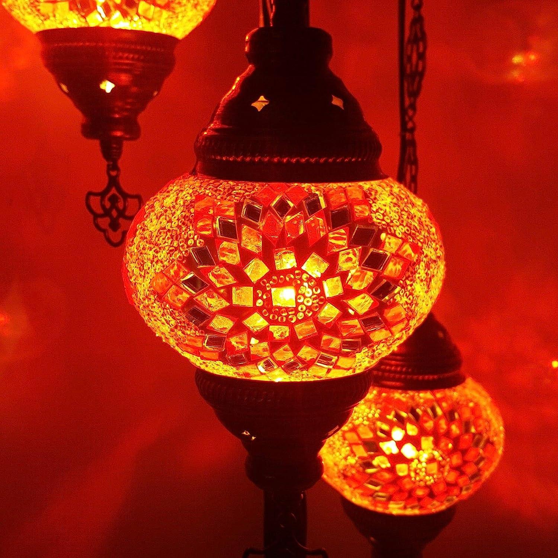 De turquía marroquí Estilo Tiffany Mosaico De Vidrio Lámpara De ...
