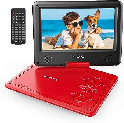 Amazon.com: Spacekey - Reproductor de DVD portátil de 9