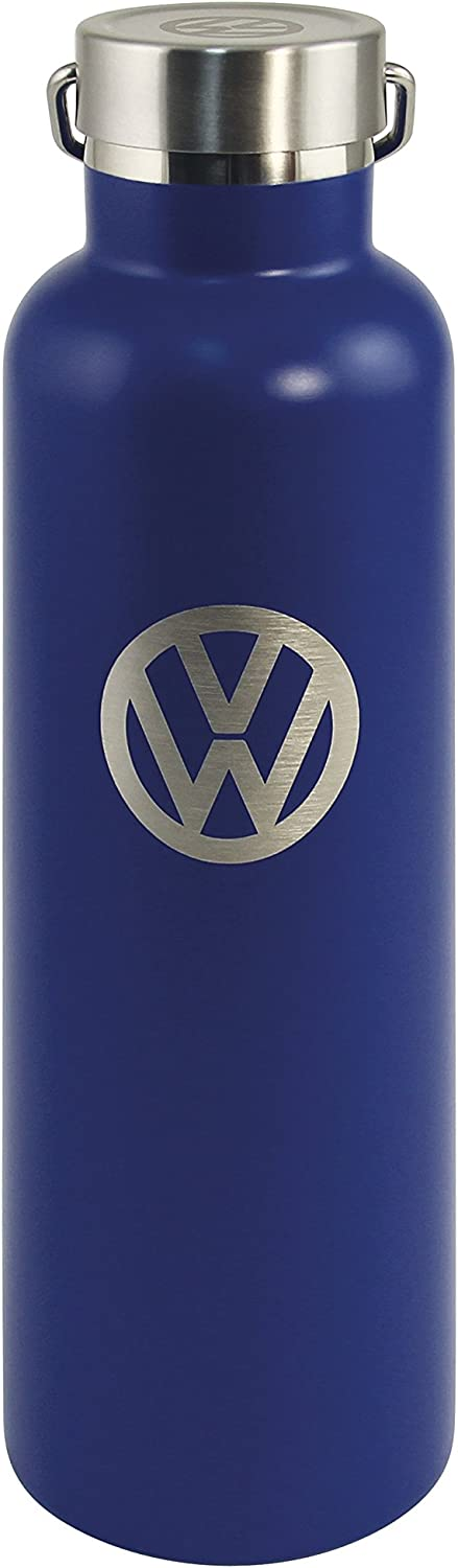 BRISA VW Collection - Volkswagen Samba Bus T1 Camper Van Vacuum Insulated Stainless Steel Thermal Drinking Bottle, Keeps Hot or Cold (Double-Walled/25 fl.oz.)
