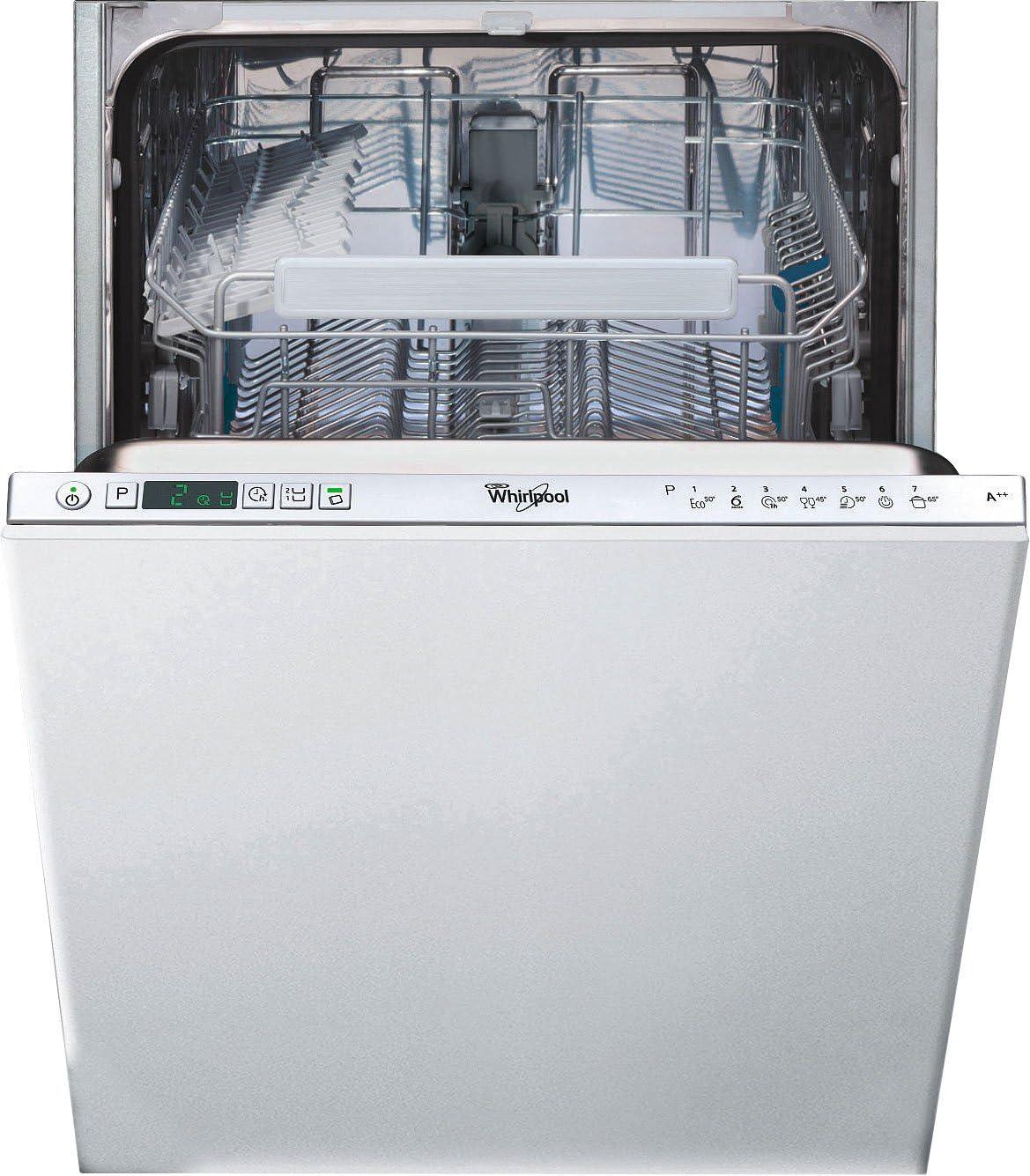 Whirlpool ADG 402 Totalmente integrado 10cubiertos A++ lavavajilla ...