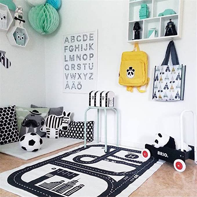 Funny Newborn Baby Infant Blankets Tapestries Kids Floor Adventure Racing Games Carpet Baby Crawling 3 Style
