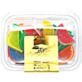 Boston Assorted Fruit Slices - Candy Fruit Jelly Slices unwrapped bulk (20oz)