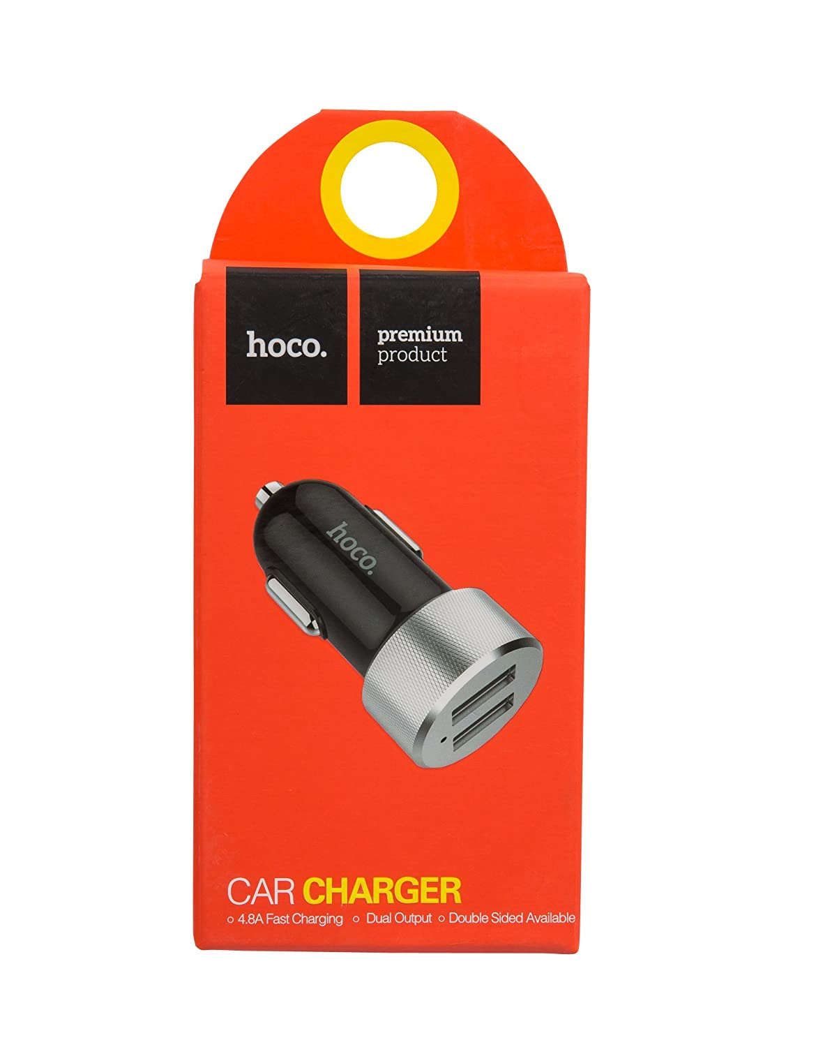 Hoco 4.8A Dual USB Car Charger