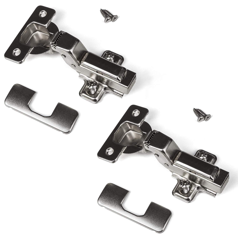 SO-TECH® Charnière clip à fermeture automatique et amorti Montage porte rentrante 110° SOTECH 40083A
