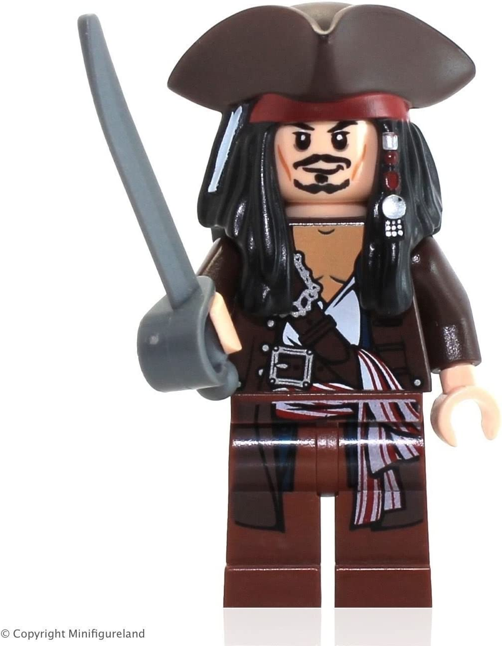 NEW Jack Sparrow /& Zombies Lego 4191 Pirates The Caribbean The Captain/'s Cabin