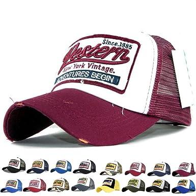 Baseball Cap Basecap Mütze Baseballcap Kappe Unisex Vintage Mesh Trucker Camou