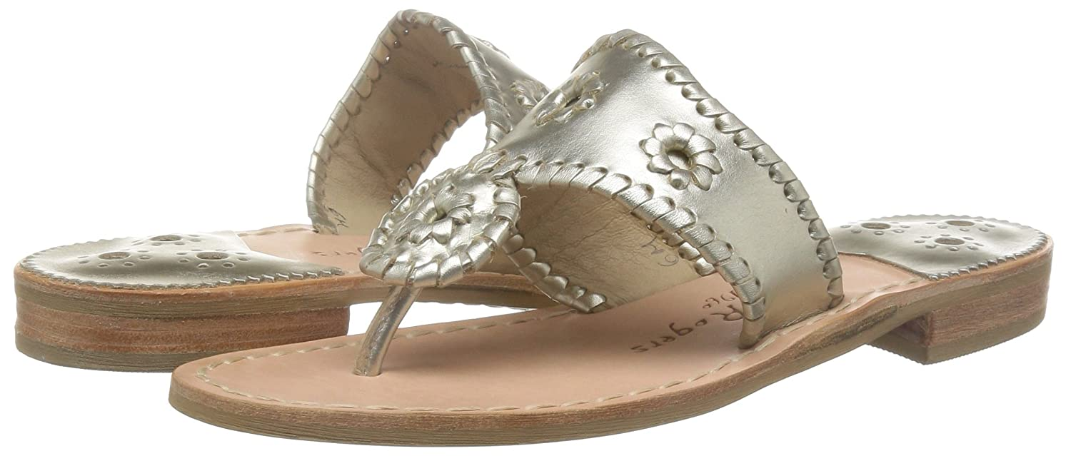 Jack UK/US Rogers Damen Hamptons Sandalen, UK/US Jack / EU Damenschuhe Platinum 0beb75