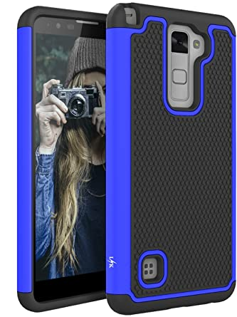 lg stylo 2 cases. lg stylo 2 case, lk [shock absorption] drop protection hybrid dual layer armor lg cases