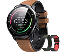 Smart Watch for Men, Hommie HD Full Touch Activity Tracker for Android & iOS Phones Smartwatch with Heart Rate Monitor Pedome