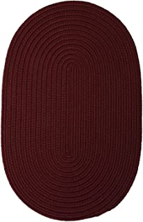 product image for Colonial Mills Boca Raton Braided Polypropylene Corona 8'x11' Oval Rug