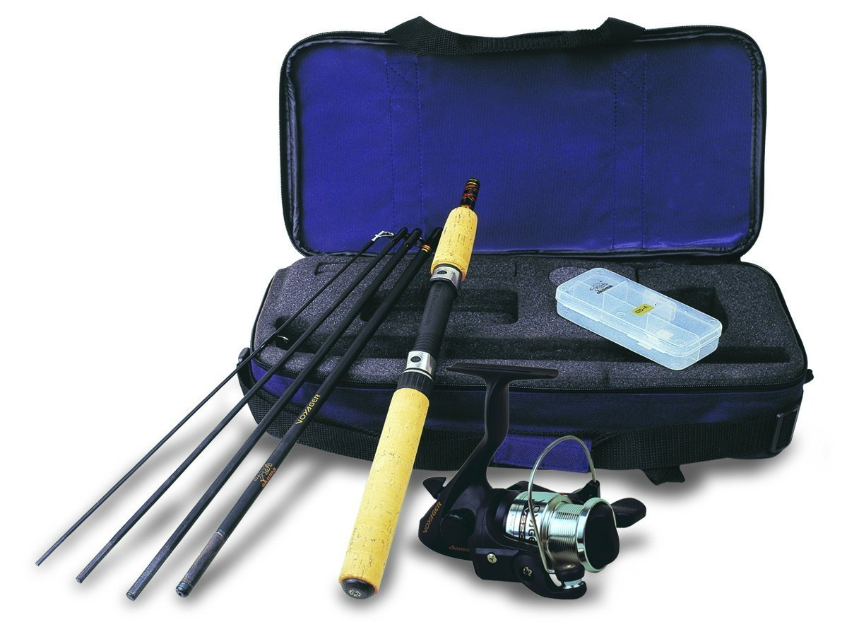 Okuma VS-605-20 Voyager Spinning Travel Kit by Okuma