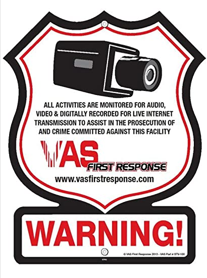 Amazon.com: VAS First Response Video | Alarma | Shoplifter ...