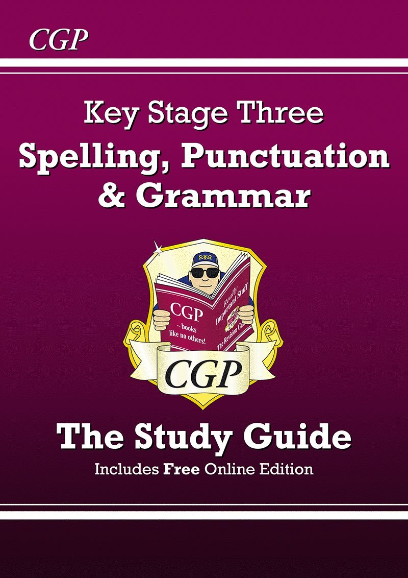 Worksheet Maths Study Online ks3 maths study guide higher levels 5 8 revision guides spelling punctuation and grammar for with online edition