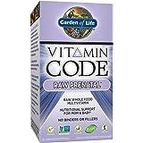 Garden of Life Prenatal Vitamins - Vitamin Code Raw Prenatal Whole Food Vitamin Supplement for Mom and Baby, Vegetarian, 30 Capsules