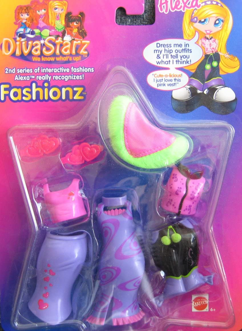 ALEXA Diva Starz Interactive Fashions