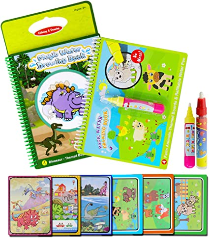 Amazon Com Bblike Water Colouring Doodle Drawing Board 2