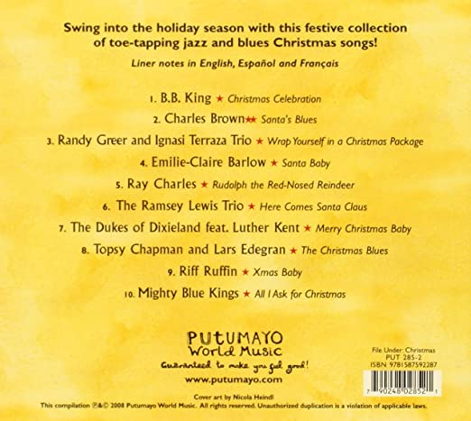 PUTUMAYO PRESENTS - Jazz & Blues Christmas - Amazon.com Music