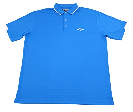 C Callaway Mens Size Large Golf Opti-Series Polo Shirt, Cloisonne