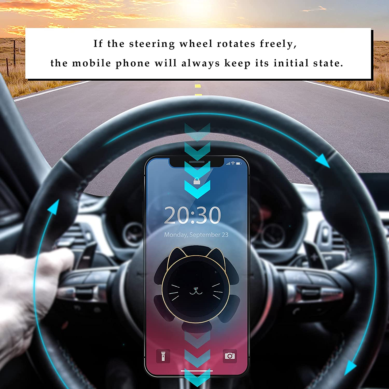 CHLIVE Steering Wheel Car, Trucks Phone Mount