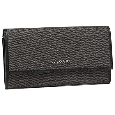 30e2cc4fb4ae Amazon | [ブルガリ] 長財布 レディース BVLGARI 32585 WEEKEND ブラック ...