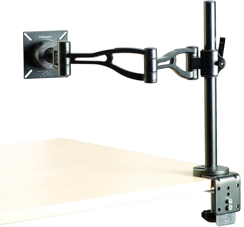 Porte /écran Moniteur Double Noir Fellowes 8041701 Professional Series
