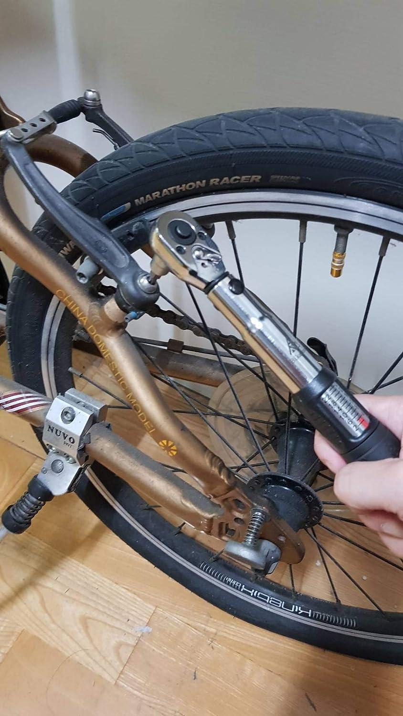 """BikeTool Best Road Mountain E-Bike Bicycle Bike Torque Wrench Set 1//4/"""" 2-24NM"""