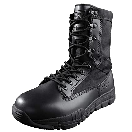 best website 92847 b80e1 FREE SOLDIER Tactical Boots 8 Inch Desert Shoes High Ankle Support Military  Boots