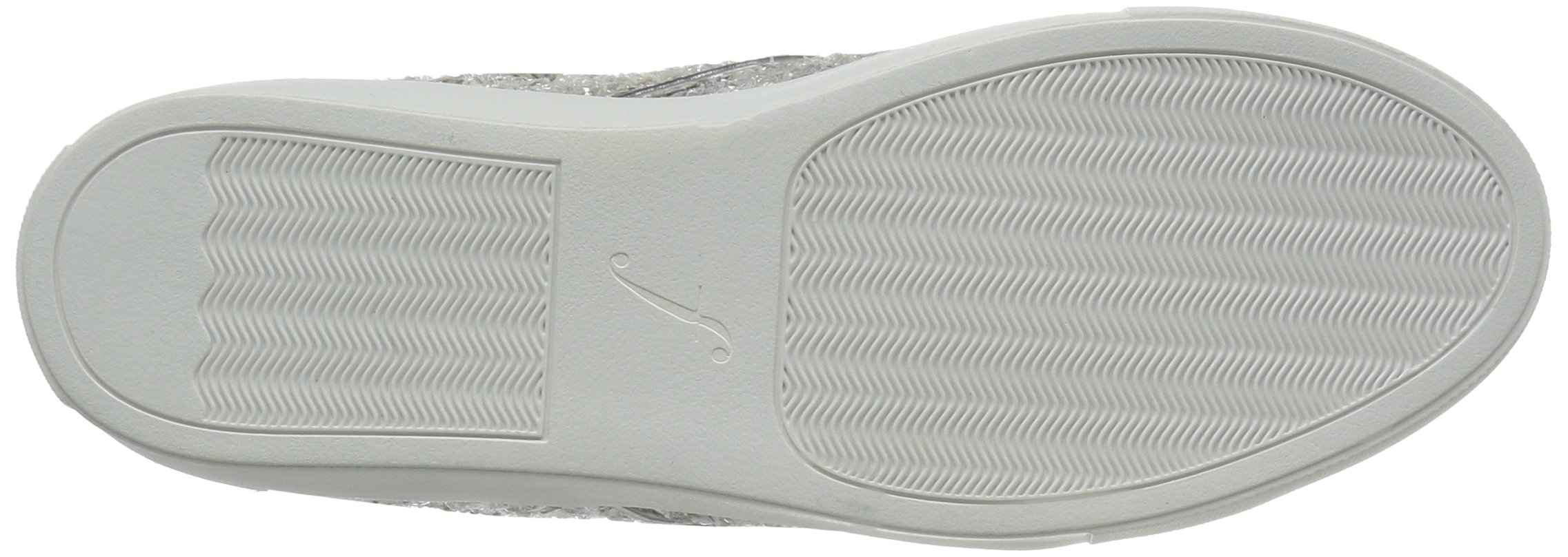 The Fix Women's Tawny Lace-up Fashion Sneaker, Silver Ice, 7.5 B US by The Fix (Image #3)