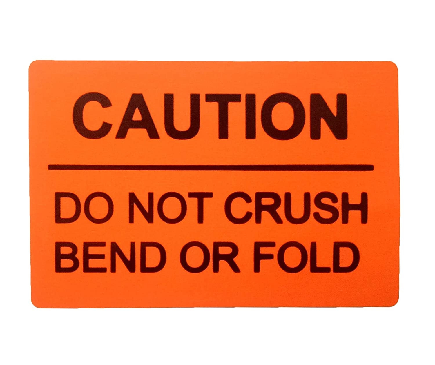 Amazon com remarkabel do not crush bend or fold caution warning shipping labels 2x3 250 stickers per roll office products