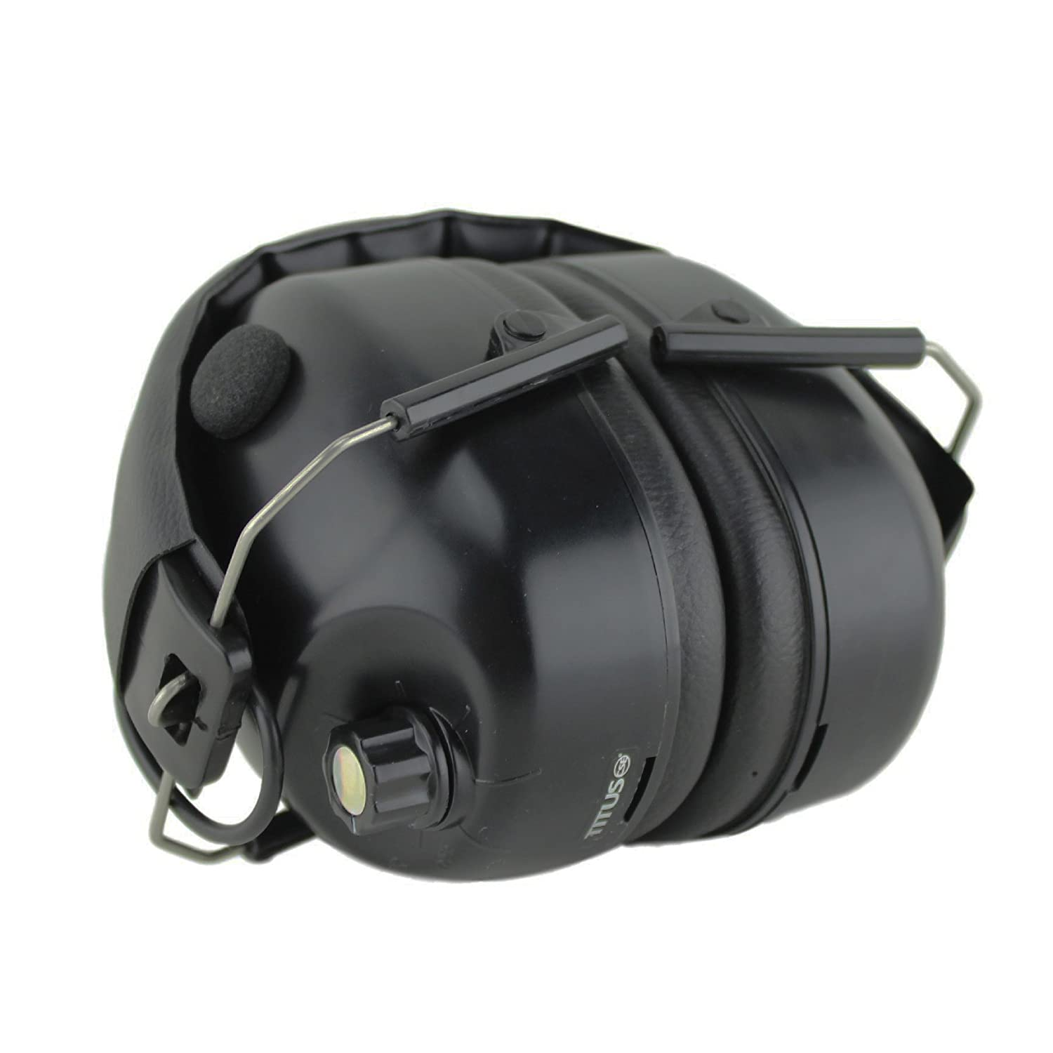 EG1 Hearing Protection Standard Low-Profile Electronic Noise Cancelling Safety Earmuffs Titus E-Series