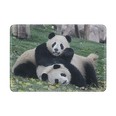 Amazon.com: Cooper niña dos Pandas Funda para pasaporte ...