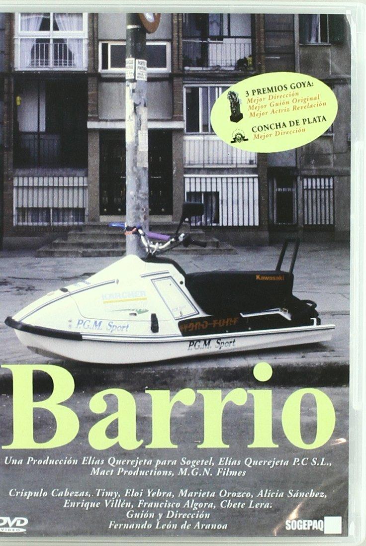 Barrio [DVD]: Amazon.es: Crispulo Cabezas, Timy, Eloi Yebra ...