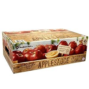 Member's Mark Apple Sauce Cups, 180 Oz,, ()