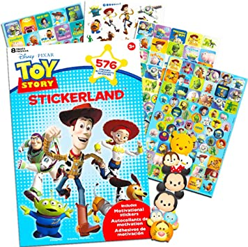 Disney Pixar Toy Story Party Favors Stickers Pack ~ Bundle con 600 Toy Story Pegatinas (Toy Story Party Supplies): Amazon.es: Juguetes y juegos