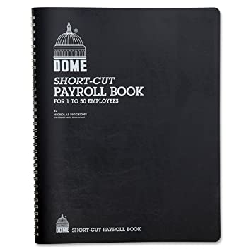 Amazon.com : Dome 650 Payroll record, single entry, 1-50 employees ...