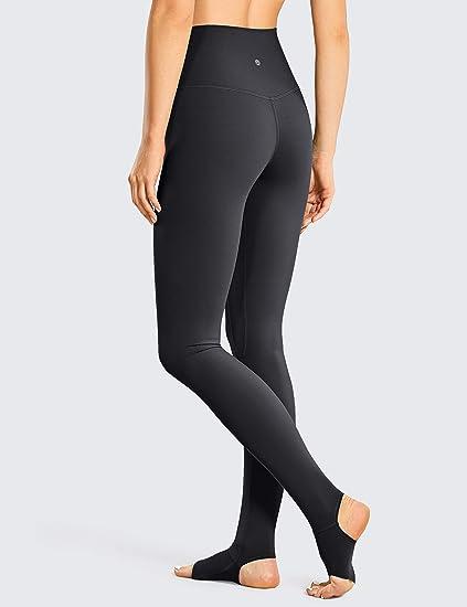 Slazenger Womens Kerin Full Length Gym Training Leggings Bottoms Pants Marl Grey