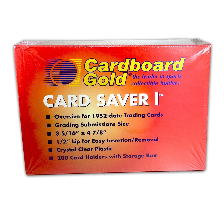 Amazon.com: Cardboard Gold Card Saver 1 - PSA/BGS Graded Card ...