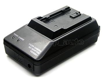 Cargador de Baterías para Cámaras Digitales Battery Charger for Panasonic Digital Cameras PV-DV402 PV-DV600 PV-DV601 PV-DV602 PV-DV701 / Reemplazo ...