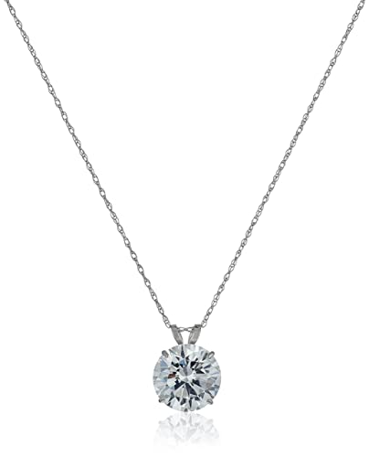 l solitaire floating reis larger necklace choker jewelers diamond view nichols