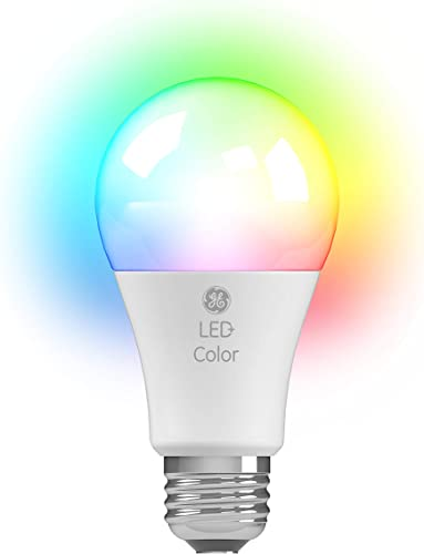 GE LED Color Changing A19 Light Bulb