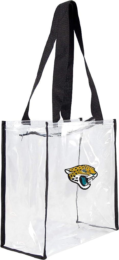 NFL Jacksonville Jaguars Clear Square Stadium Tote