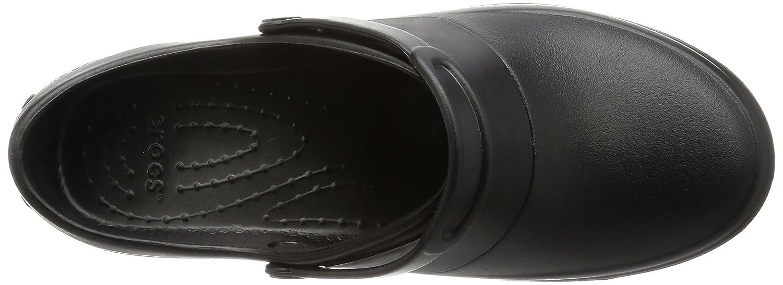 Black//Black 36//37 EU Crocs Mercy Work Noir Sabots Femme