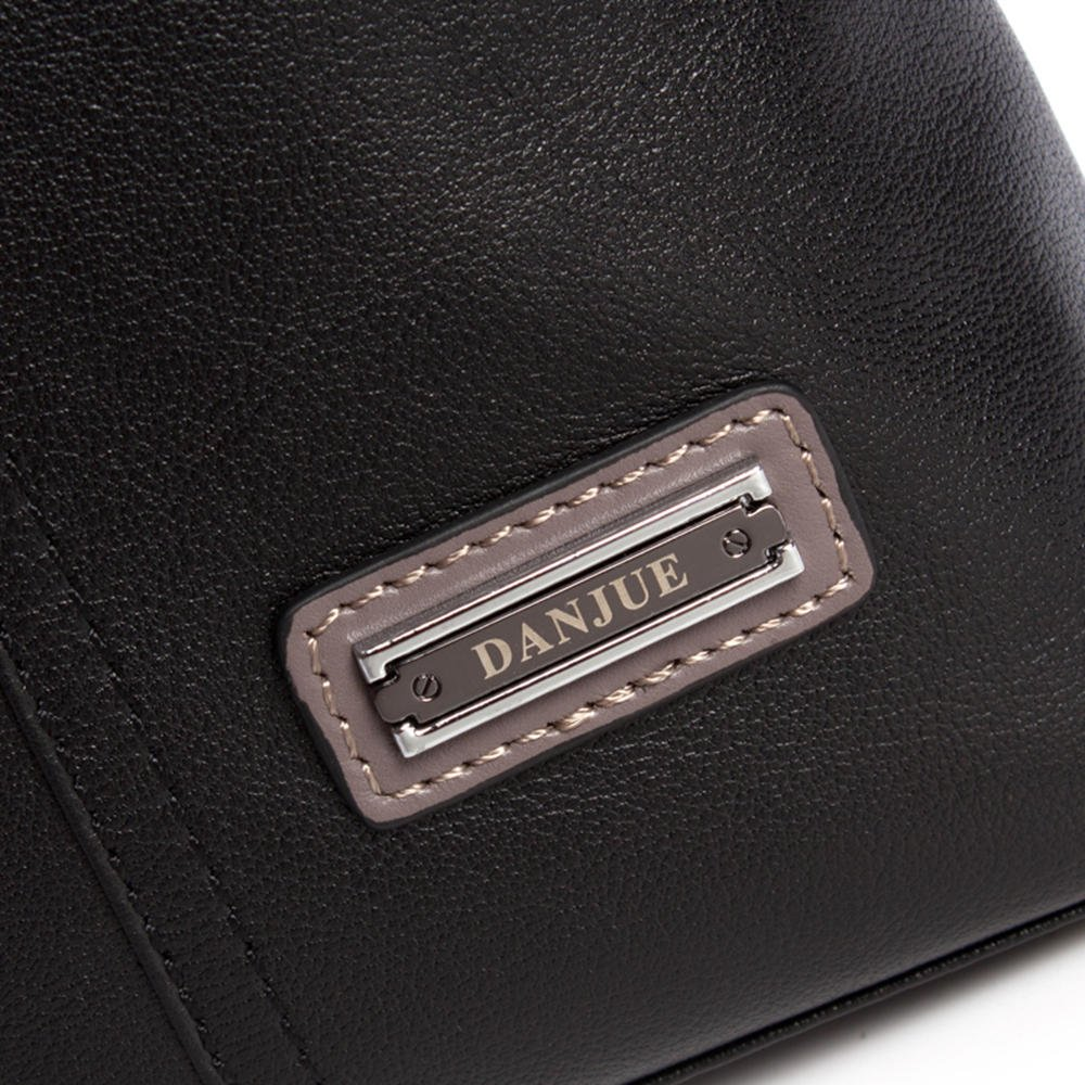 Color : Black Bxfdc Retro Mens Shoulder Bag Fashion Business Messenger Bag Tote Bag Briefcase Mens Bag