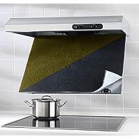 Wenko Filtro Combinado con Carbón Activo, Poliéster, Negro, 47x57x3 cm
