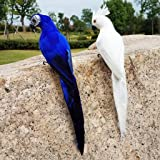 BAOIWEI Colorful Fake Parrots Artificial Birds