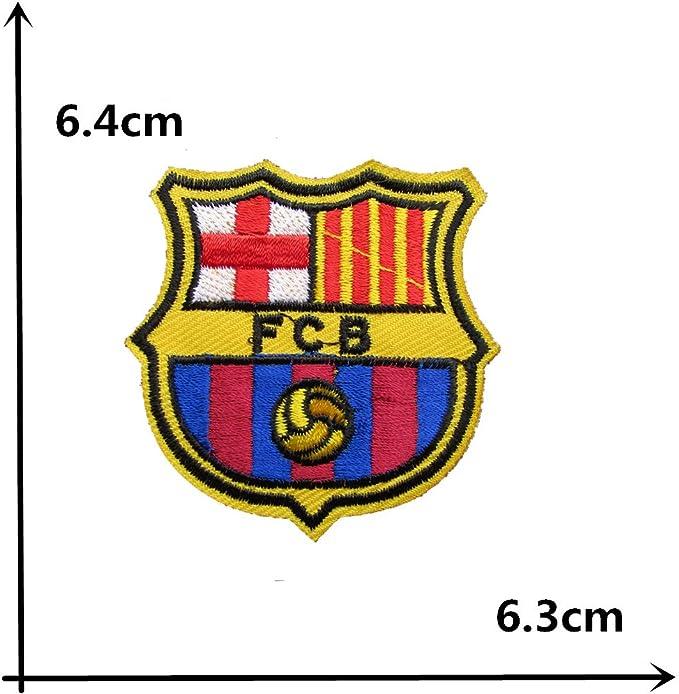 coolpart Barcelona equipo Logo parche adhesivo termofusible ropa ...