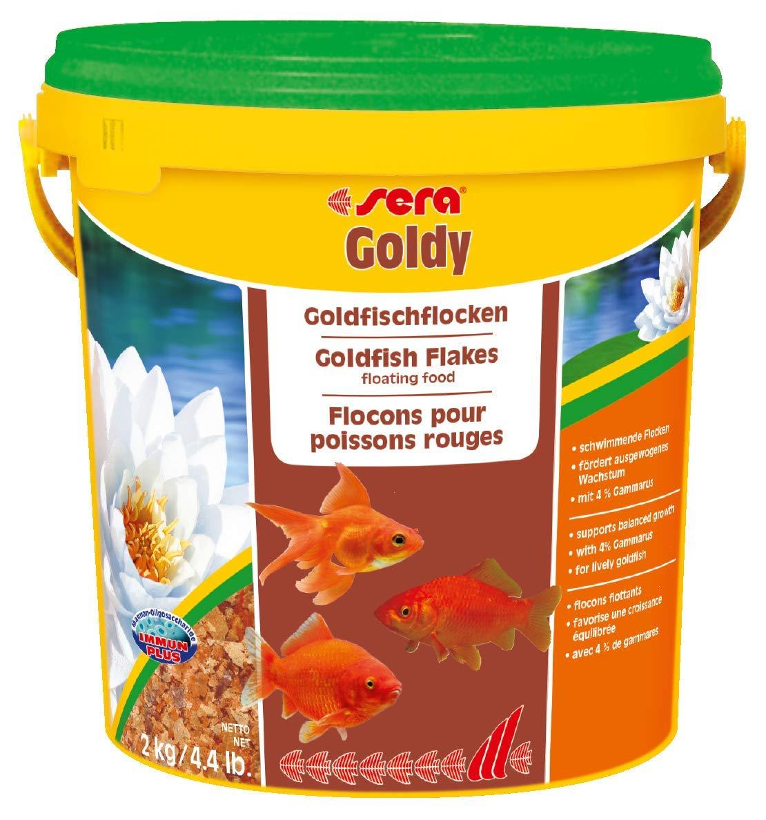 Sera 1 Piece Goldy Fish Food, 4.4 lb/10 L by Sera
