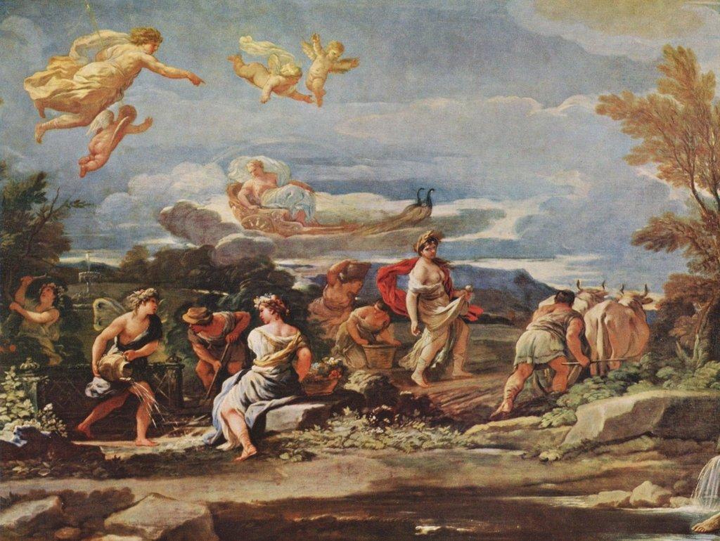 Lais Puzzle Luca Giordano - - - Szenen aus der Mythologie: Vertumnus und Pomona 2000 Teile e3cf65