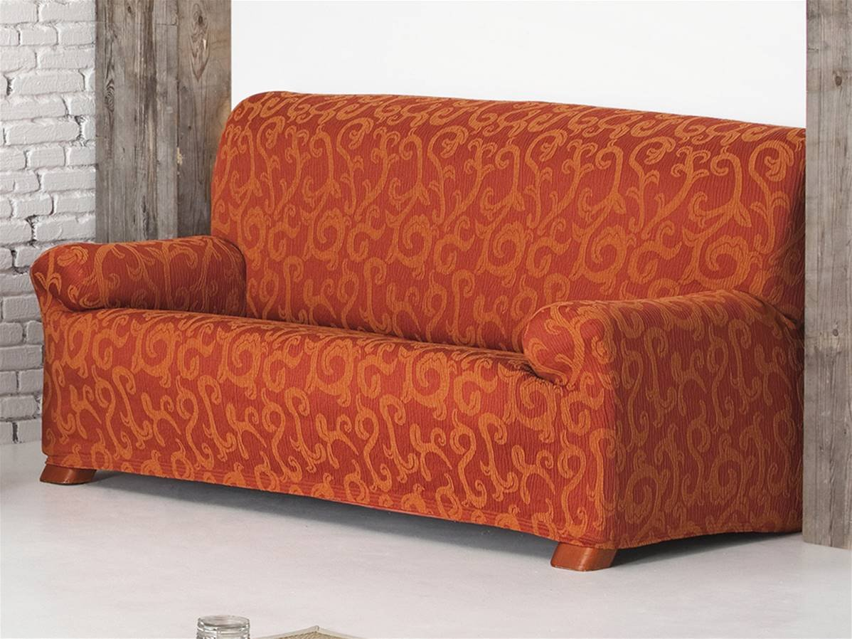 LaNovenaNube - Funda sofa OVER 3 plazas color Naranja ...
